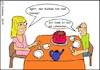 Cartoon: Lebkuchen (small) by Amokkritzler tagged lebkuchen,torte,kuchen,ekel