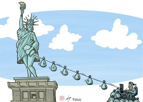 Afbeeldingsresultaat voor hackers in de US cartoon