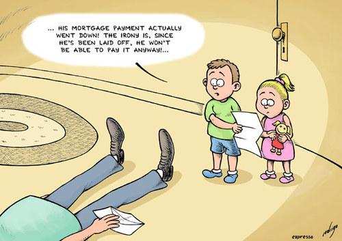 Cartoon: Lower mortgage rates (medium) by rodrigo tagged mortgage ...