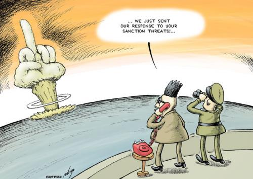 Cartoon north korea nuclear bomb medium by rodrigo tagged north