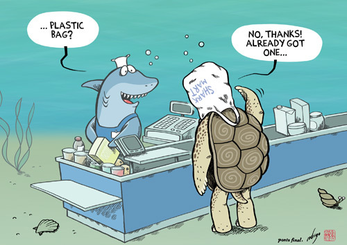 Plastific Ocean By Rodrigo Politics Cartoon Toonpool