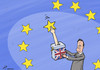 Cartoon: Cameuron (small) by rodrigo tagged europe,united,kingdom,uk,david,cameron,referendum,british,great,britain
