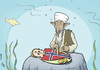 Cartoon: Terror in Norway (small) by rodrigo tagged norway,anders,behring,breivik,terror,atack,bomb,terrorist,osama,bin,laden