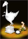 Cartoon: in the museum (small) by Svetlin Stefanov tagged svetlin