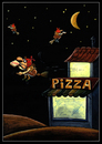 Cartoon: pizza (small) by Svetlin Stefanov tagged pizza fast food
