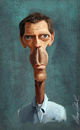 Cartoon: Dr.House (small) by alvarocabral tagged caricature