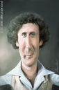 Cartoon: Gene Wilder (small) by alvarocabral tagged caricature