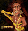 Cartoon: hulk hogan (small) by alvarocabral tagged caricature