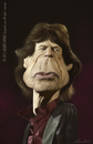 Cartoon: Mick Jagger (small) by alvarocabral tagged caricature