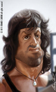 Cartoon: Rambo 2 (small) by alvarocabral tagged caricature