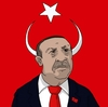 Cartoon: Erdogan (small) by RainerUnsinn tagged atatürk,demokratie,flagge,fahne,erdogan,istambul,karikatur,land,politik,politiker,recep,tayyip,teufel,türkei,halbmond,präsident