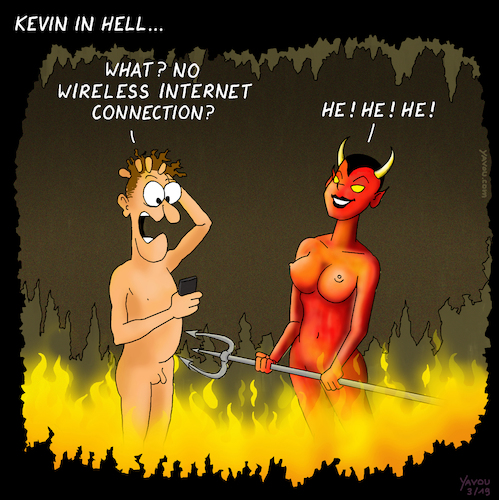Kevin in hell