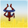 Cartoon: Amazing (small) by Yavou tagged spiderman,peter,parker,marvel,comic,cartoon,spider,man,superhero,the,amazing,new,york,fanart