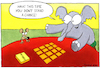 Cartoon: Memory - ENG (small) by Yavou tagged elephant,mouse,memory,animals,game,yavou,playing