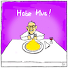 Cartoon: Rein zu doll (small) by Yavou tagged papst,pope,jorge,mario,habemus,papam,yavou,cartoon,bergoglio,konklave,pontifex,franziskus,katholische,kirche,mus,kartoffelmus,papstwahl,vatikan