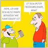 Cartoon: altes Handy (small) by ichglaubeshackt tagged handy,smartphone,iphone,taschenrechner,kinder,eltern