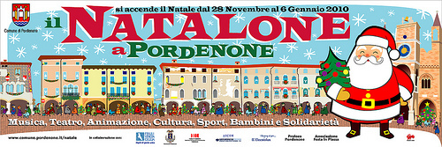 Cartoon: NATALONE A PORDENONE 2009 (medium) by zellaby tagged natale,christmas,pordenone,zellaby