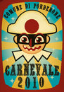 Cartoon: REFUSED CARNEVALE POSTCARD (small) by zellaby tagged carnevale,zellaby,pordenone