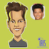 Cartoon: caricature of bruno mars (small) by Gamika tagged colombo,sri,lanka,caricature
