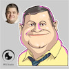 Cartoon: caricature of Patton Oswalt (small) by Gamika tagged caricature,of,patton,oswalt
