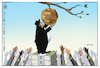 Cartoon: Income Injustice (small) by Mikail Ciftci tagged income,injustice,davos,mikail,cartoon