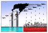 Cartoon: September 11 (small) by Mikail Ciftci tagged september11,usa,islamicgeography,mikailciftci,war