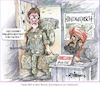 Cartoon: Ritter-Karikatur (small) by Ritter-Karikaturen tagged antrittsbesuch