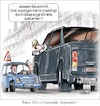 Cartoon: SUV am Pranger (small) by Ritter-Karikaturen tagged ritter,karikatur