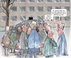 Cartoon: Wohnungsnot (small) by Ritter-Karikaturen tagged ritterkarikatur