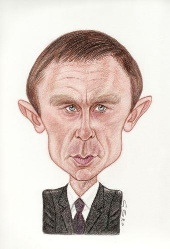 daniel craig love is the devil. Cartoon: Daniel Craig (medium)