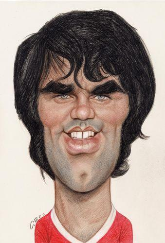 George Best By Gero Sports Cartoon Toonpool