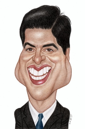 Cartoon: Ray Romano (medium) by Gero tagged caricature