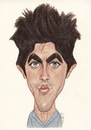 Cartoon: Jake Gyllenhaal (small) by Gero tagged caricature