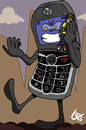 Cartoon: i belon my mobile (small) by lexgromiko tagged mobile technology opposite sense