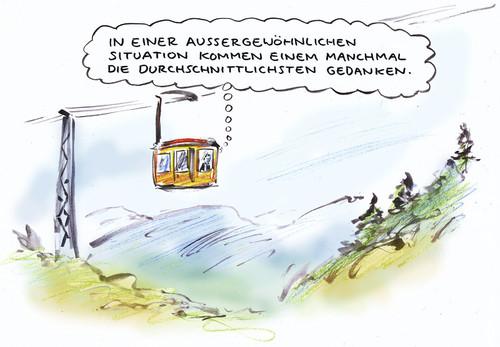 Situationsbedingt By Bernd Zeller | Philosophy Cartoon