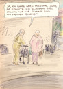 Cartoon: Altersweisheit (small) by Bernd Zeller tagged alter
