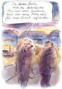 Cartoon: Beste Zeit (small) by Bernd Zeller tagged dekadenz