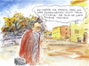 Cartoon: Entschlossen... (small) by Bernd Zeller tagged beziehung,partnerschaft