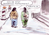Cartoon: Generation definiert (small) by Bernd Zeller tagged piratenparte