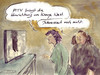 Cartoon: Kunstbanausen (small) by Bernd Zeller tagged kunstbanausen,kunst,banausen,kayne,west,hinrichtung,tv