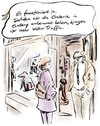 Cartoon: Leider (small) by Bernd Zeller tagged galerie,gallery,kunstmarkt,bilder,malerei,maler,besucher,traffic,visitors