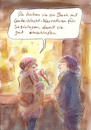 Cartoon: Mitbringsel (small) by Bernd Zeller tagged soziologie