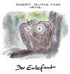 Cartoon: Seltenes Tier (small) by Bernd Zeller tagged tiere