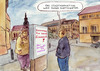 Cartoon: Stadtmarketing (small) by Bernd Zeller tagged stadtmarketing,pr,eisenach