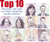 Cartoon: Top 10 (small) by Bernd Zeller tagged hitlervergleiche