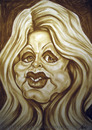 Cartoon: Brigitte Bardot (small) by Portraits-Karikaturen tagged brigitte,bardot,franzoesische,diva