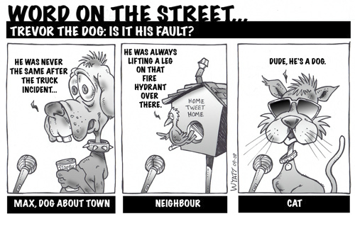 Trevor The Dog By Wyattsworld Nature Cartoon Toonpool