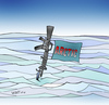 Cartoon: Bullets over ice (small) by wyattsworld tagged arctic military canada russia