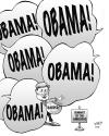 Cartoon: Harper at the Americas (small) by wyattsworld tagged harper americas obama