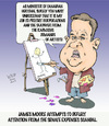 Cartoon: Moore the Artist (small) by wyattsworld tagged artists,funding,canada